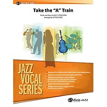 """Alfred Take the """"A"""" Train Jazz Vocal Band Grade 2.5 Set"""