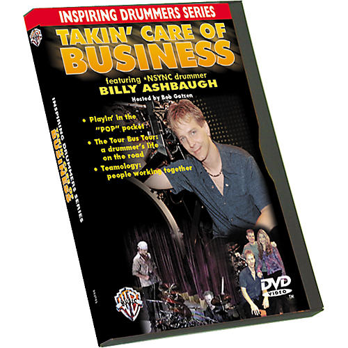 Alfred Takin' Care of Business (DVD)