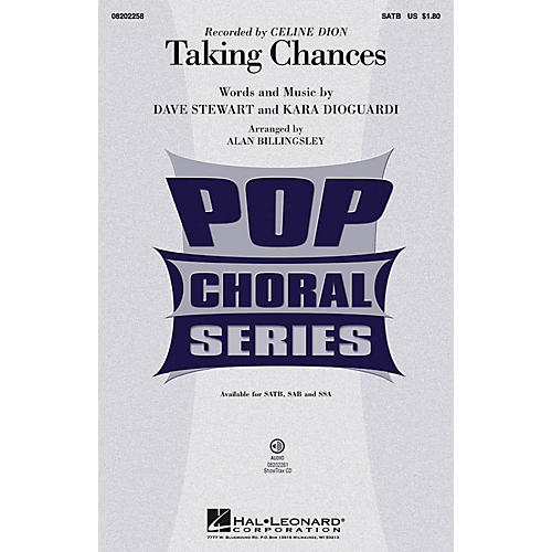 Hal Leonard Taking Chances ShowTrax CD by Celine Dion Arranged by Alan Billingsley-thumbnail