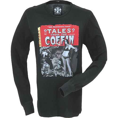 Coffin Case Tales from the Coffin Long-Sleeve Thermal Shirt