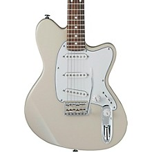 Talman Prestige Series TM1730 Electric Guitar Vintage White Rosewood Fingerboard