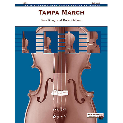 Alfred Tampa March String Orchestra Grade 2-thumbnail