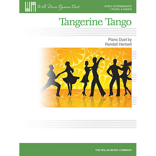 Willis Music Tangerine Tango (1 Piano, 4 Hands/Early Inter Level) Willis Series Book by Randall Hartsell-thumbnail