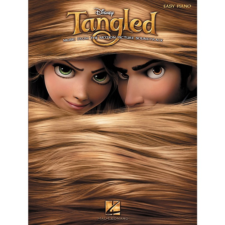 Hal Leonard Tangled - Music From The Motion Picture Soundtrack For Easy Piano
