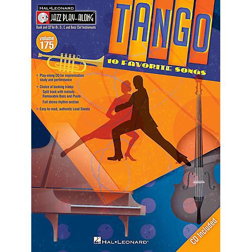 Hal Leonard Tango - Jazz Play-Along Volume 175 Book/CD-thumbnail