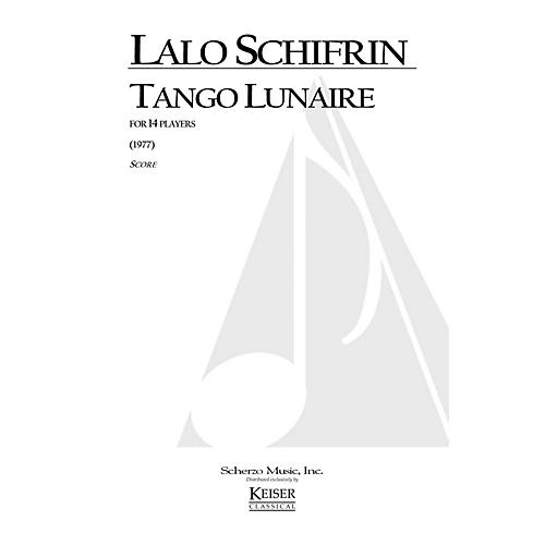 Lauren Keiser Music Publishing Tango Lunaire (for 14 Players) LKM Music Series by Lalo Schifrin-thumbnail