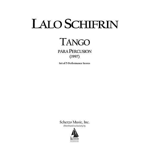 Lauren Keiser Music Publishing Tango Para Percusion (Tango for Percussion) (5 Performance Scores) LKM Music Series by Lalo Schifrin