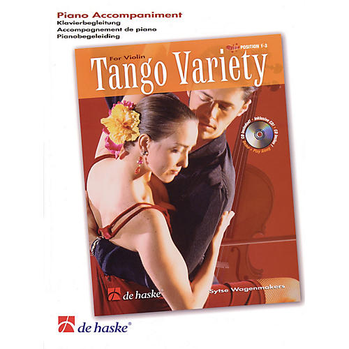 De Haske Music Tango Variety for Violin (Piano Accompaniment) De Haske Play-Along Book Series by Sytse Wagenmakers-thumbnail