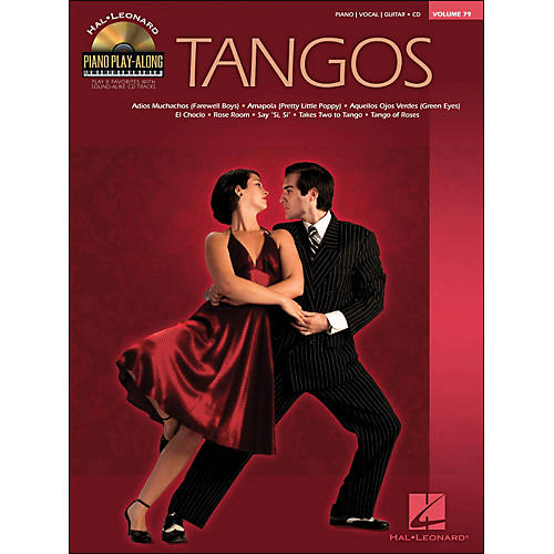 Hal Leonard Tangos - Piano Play-Along Volume 79 (CD/Pkg) arranged for piano, vocal, and guitar (P/V/G)