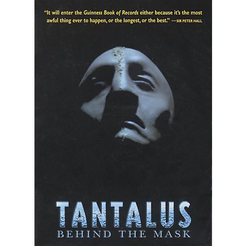 The Working Arts Library/Applause Tantalus (Behind the Mask) Applause Books Series DVD Written by John Barton-thumbnail