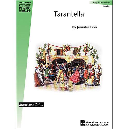 Hal Leonard Tarantella Early Intermediate Level 4 Showcase Solos Hal Leonard Student Piano Library by Jennifer Linn-thumbnail