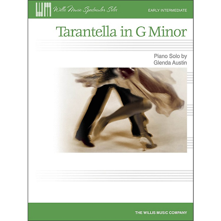 Willis MusicTarantella In G Minor - Early Intermediate Piano Solo Sheet