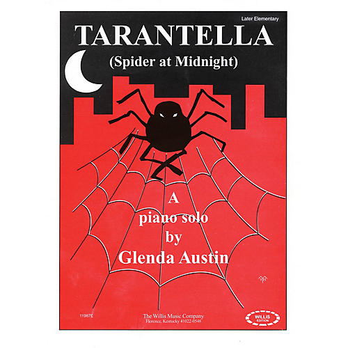 Willis Music Tarantella (Spider at Midnight) (Later Elem Level) Willis Series by Glenda Austin-thumbnail