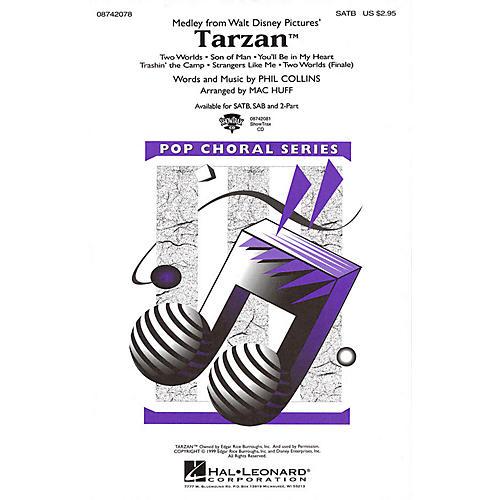 Hal Leonard Tarzan (Medley) SATB arranged by Mac Huff-thumbnail
