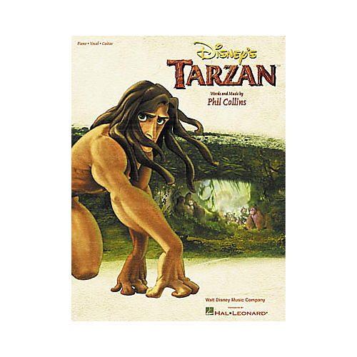 Hal Leonard Tarzan Piano, Vocal, Guitar Songbook