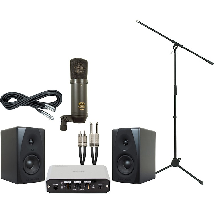 M-AudioTascam US-100 and M-Audio CX5 Recording Package