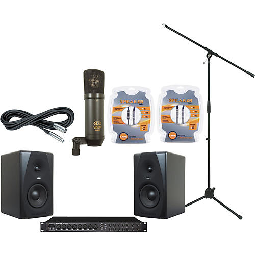M-Audio Tascam US-1800 and M-Audio CX5 Recording Package