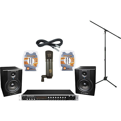 M-Audio Tascam US-2000 and M-Audio BX5a Recording Package
