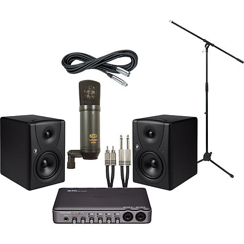 Mackie Tascam US-600 and Mackie MR5 Recording Package