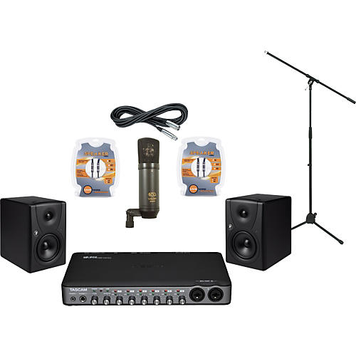Mackie Tascam US-800 and Mackie MR5 Recording Package