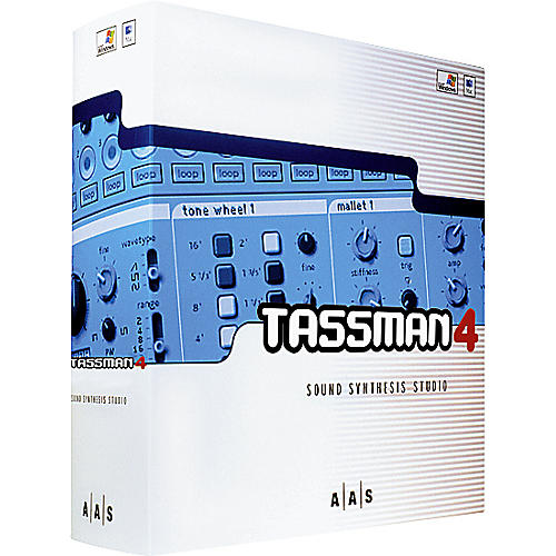 AAS Tassman 4 Sound Synthesis Studio Software