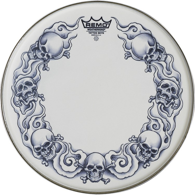Remo Tattoo Skyn Drumhead 14 inch Dragon Skyn Graphic