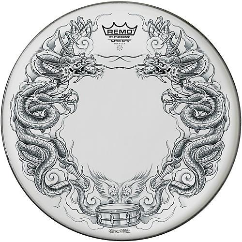 Remo Tattoo Skyn Drumhead 13 in. Dragon Skyn Graphic