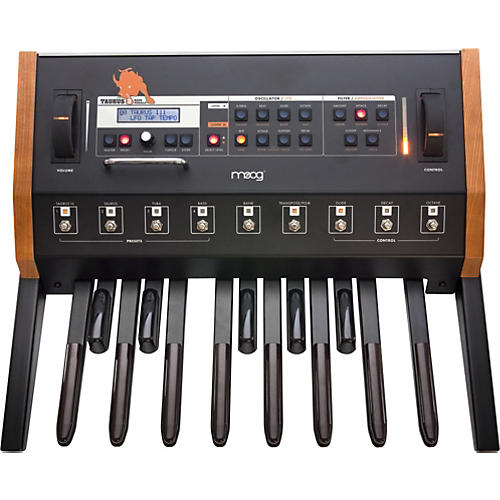 moog taurus bass pedal synthesizer version 3 musician 39 s friend. Black Bedroom Furniture Sets. Home Design Ideas
