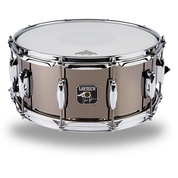 Gretsch Drums Taylor Hawkins Signature Snare Drum Black Nickel Over Steel 6.5 x 14 Inch