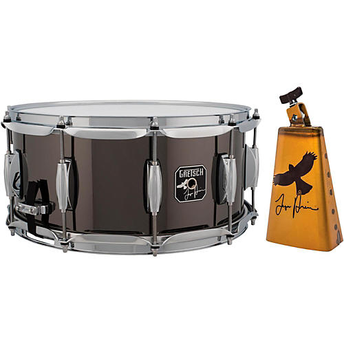 Gretsch Drums Taylor Hawkins Signature Snare Drum With Free LP Taylor Hawkins Cowbell