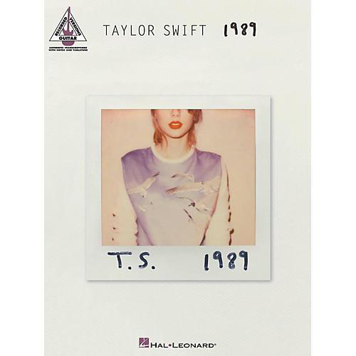Hal Leonard Taylor Swift - 1989 Guitar Tab Songbook-thumbnail