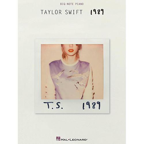 Hal Leonard Taylor Swift - 1989 for Big Note Piano