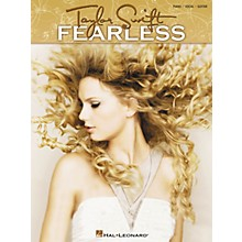 Hal Leonard Taylor Swift - Fearless Songbook for Piano, Vocal, and Guitar