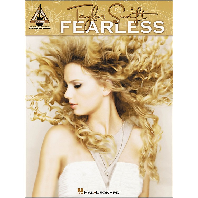 Hal Leonard Taylor Swift - Fearless Tab Book