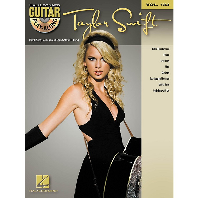 Hal Leonard Taylor Swift - Guitar Play- Along Volume 133 (Book/CD)