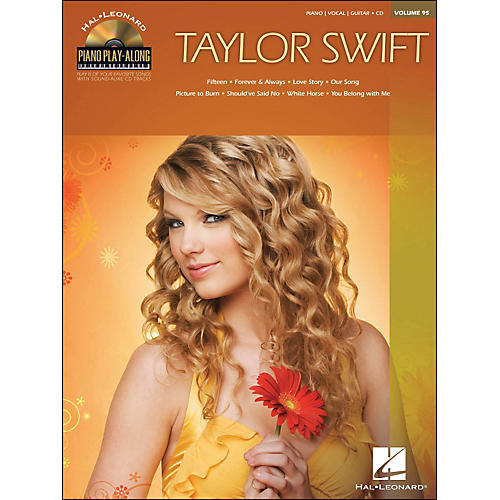 Hal Leonard Taylor Swift - Piano Play-Along Volume 95 (CD/Pkg) arranged for piano, vocal, and guitar (P/V/G)
