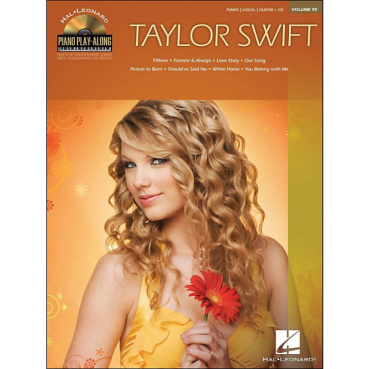 Hal LeonardTaylor Swift - Piano Play-Along Volume 95 (CD/Pkg) arranged for piano, vocal, and guitar (P/V/G)