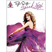 Hal Leonard Taylor Swift - Speak Now Guitar Tab Songbook