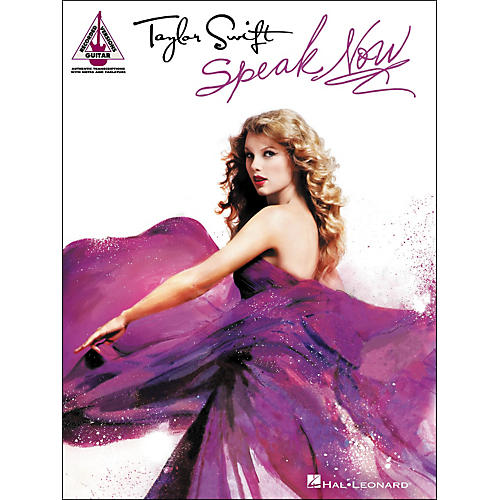 Hal Leonard Taylor Swift - Speak Now Guitar Tab Songbook
