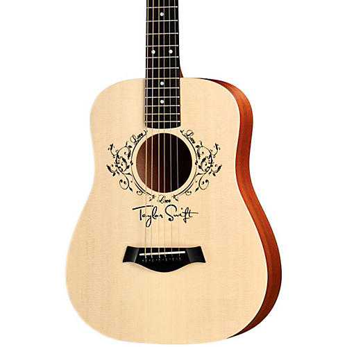 Taylor Taylor Swift Baby Taylor Acoustic Guitar Natural 3/4 Size Dreadnought