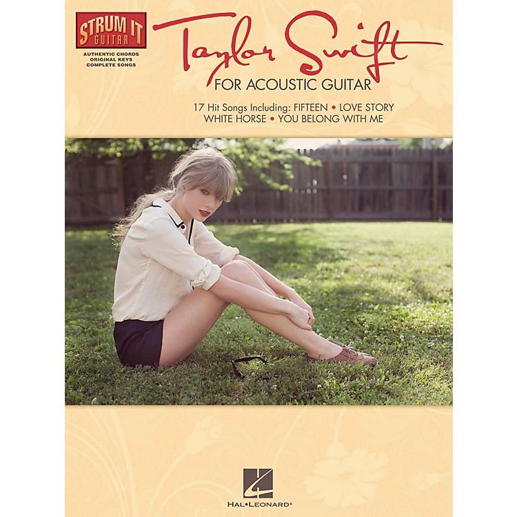 Hal LeonardTaylor Swift For Acoustic Guitar - Strum It Guitar Series