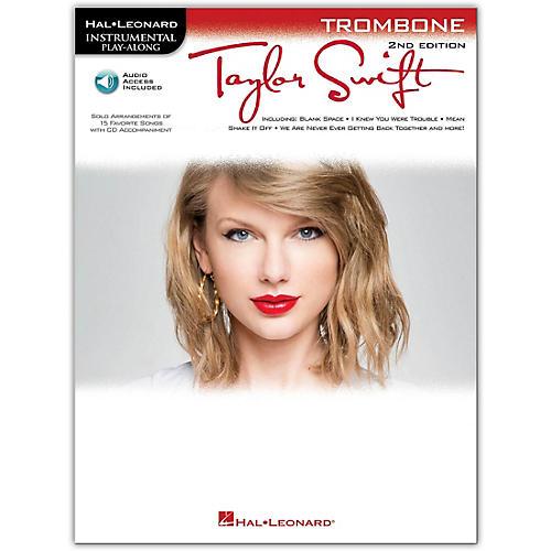 Hal Leonard Taylor Swift For Trombone - Instrumental Play-Along Book/CD