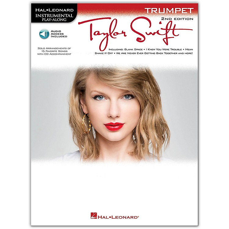 Hal Leonard Taylor Swift For Trumpet - Instrumental Play-Along Book/CD