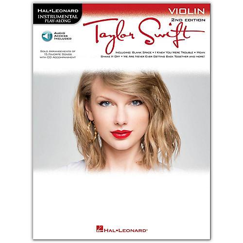Hal Leonard Taylor Swift For Violin - Instrumental Play-Along Book/CD