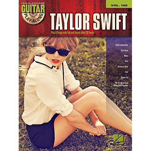 Hal Leonard Taylor Swift Hits - Guitar Play-Along Volume 169 Book/CD-thumbnail