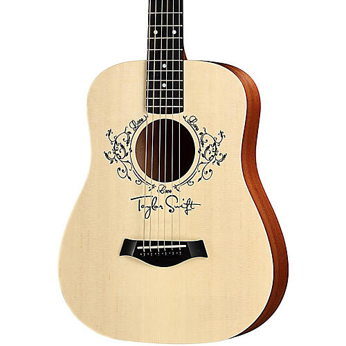 taylor taylor swift signature baby taylor acoustic electric guitar natural musician 39 s friend. Black Bedroom Furniture Sets. Home Design Ideas