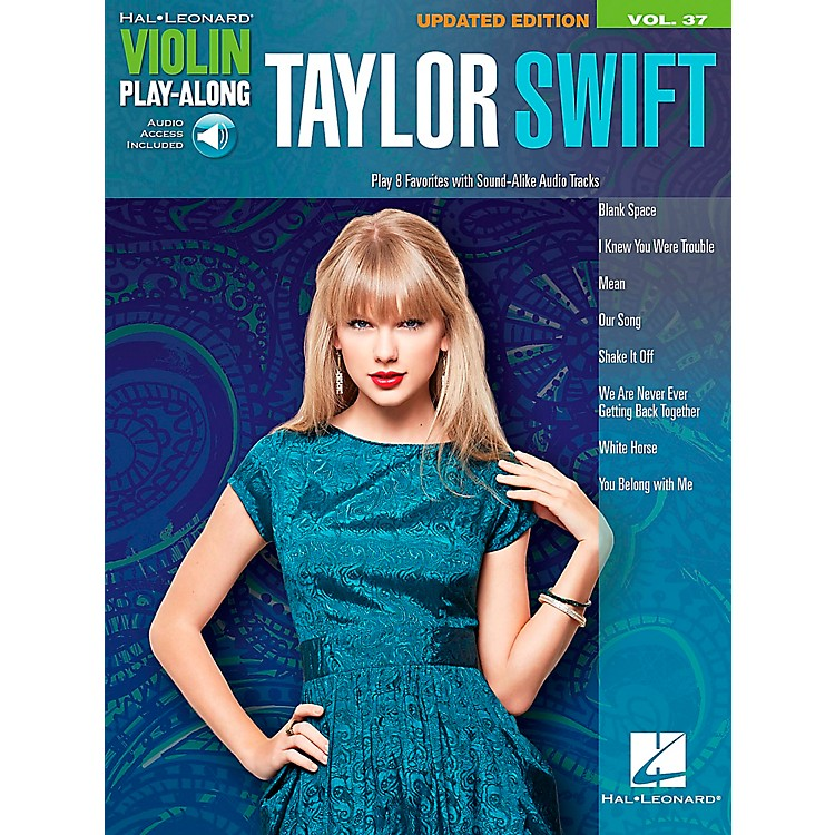 Hal LeonardTaylor Swift  Violin Play-Along Volume 37 Book/CD