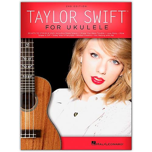 Hal Leonard Taylor Swift for Ukulele Songbook-thumbnail