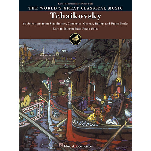 Hal Leonard Tchaikovsky - Simplified Piano Solos World's Greatest Classical Music Series (Easy)-thumbnail