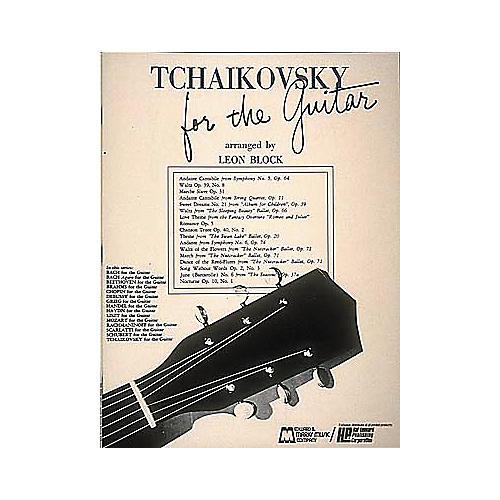 Edward B. Marks Music Company Tchaikovsky for Guitar Book